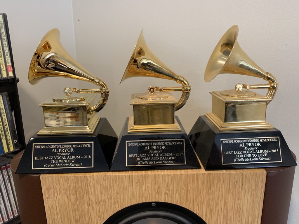 Al Pryor 3rd Grammy