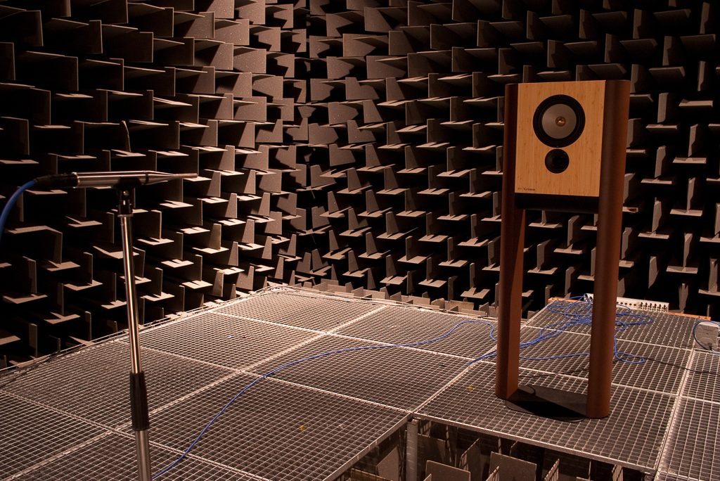 The late anechoic room of HKU University of the Arts Utrecht