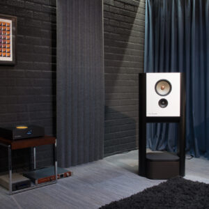 The MU1 forms the heart of the demo room system.