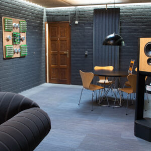 The back of the demo room.