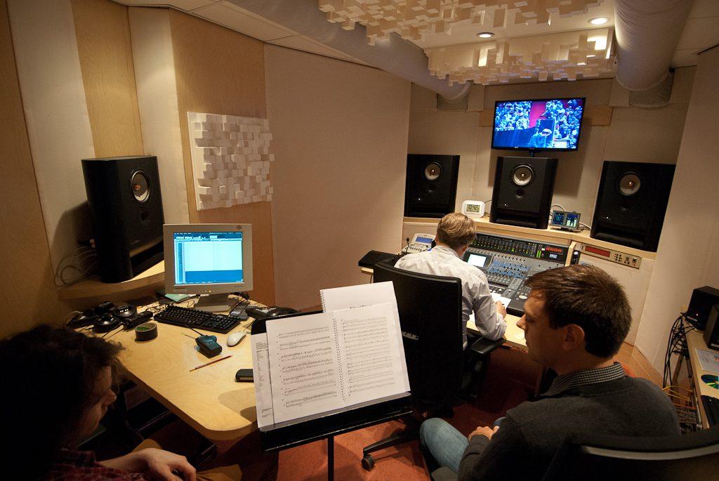 LS1 in Concertgebouw studio