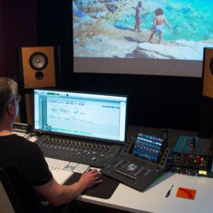 LS1 in Studio Bart Jilesen