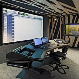 LS1 in postproduction studio HKU University of the Arts Utrecht