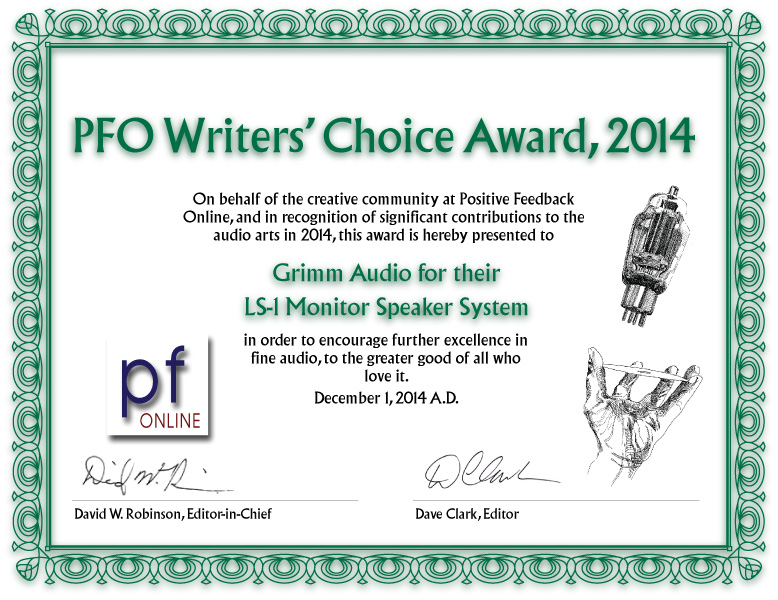 LS1 PFO Writers Award 2014